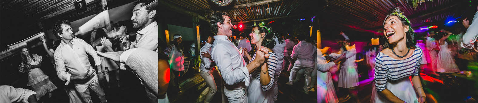 bride and groom dancing in a alternative wedding