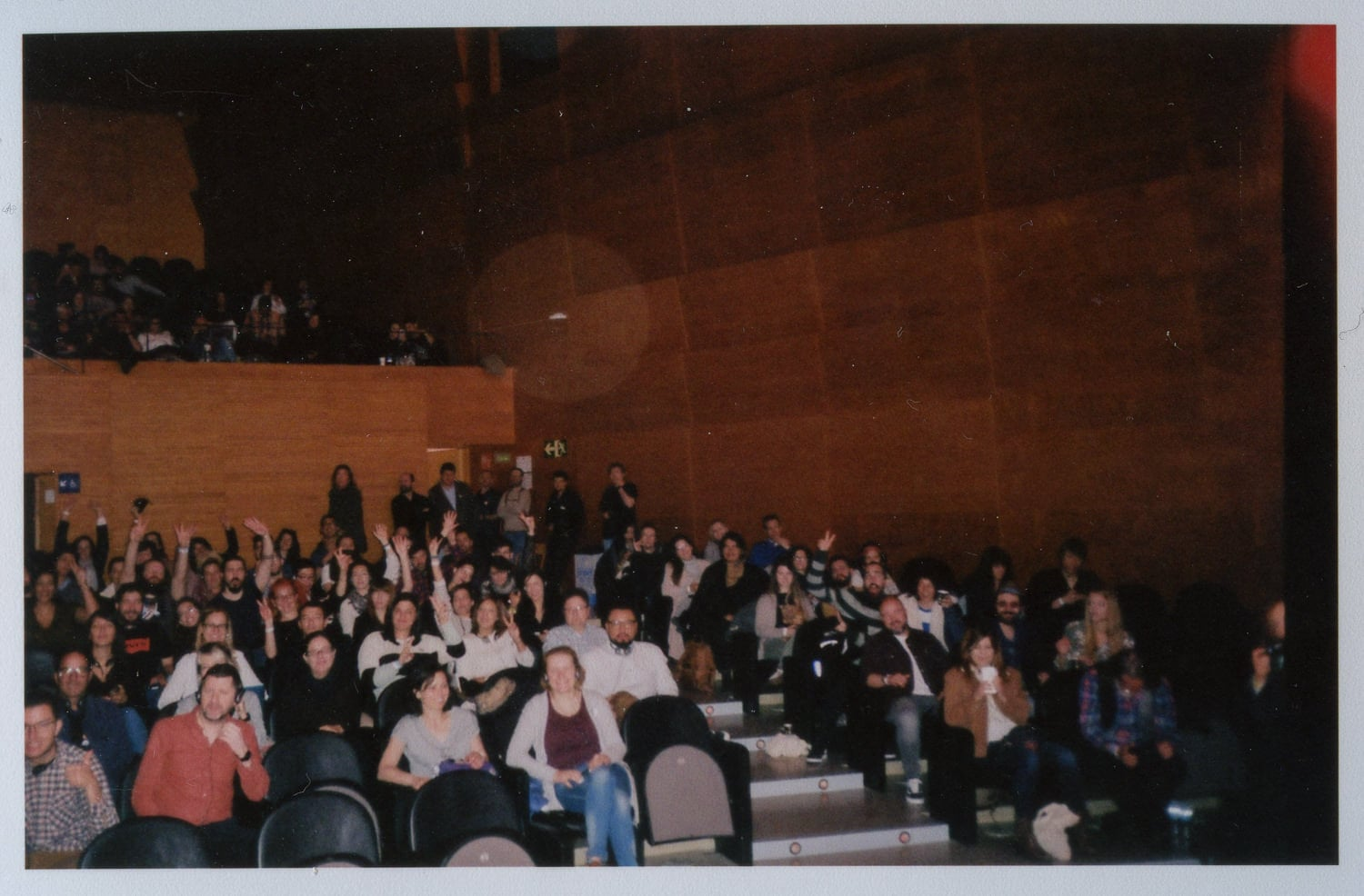 audience of wedding photography conference boda f  barcelona