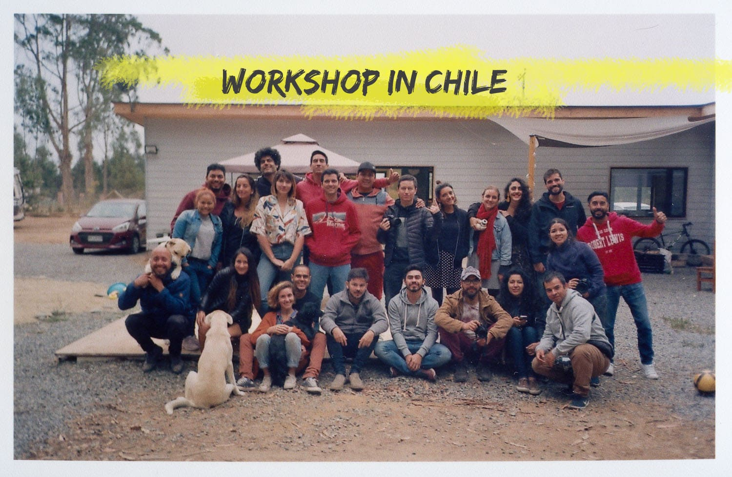 portrait group shot of the chilean workshop