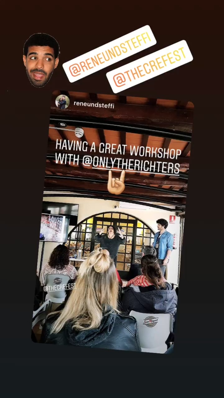 reviews from the people who went to the richters workshop