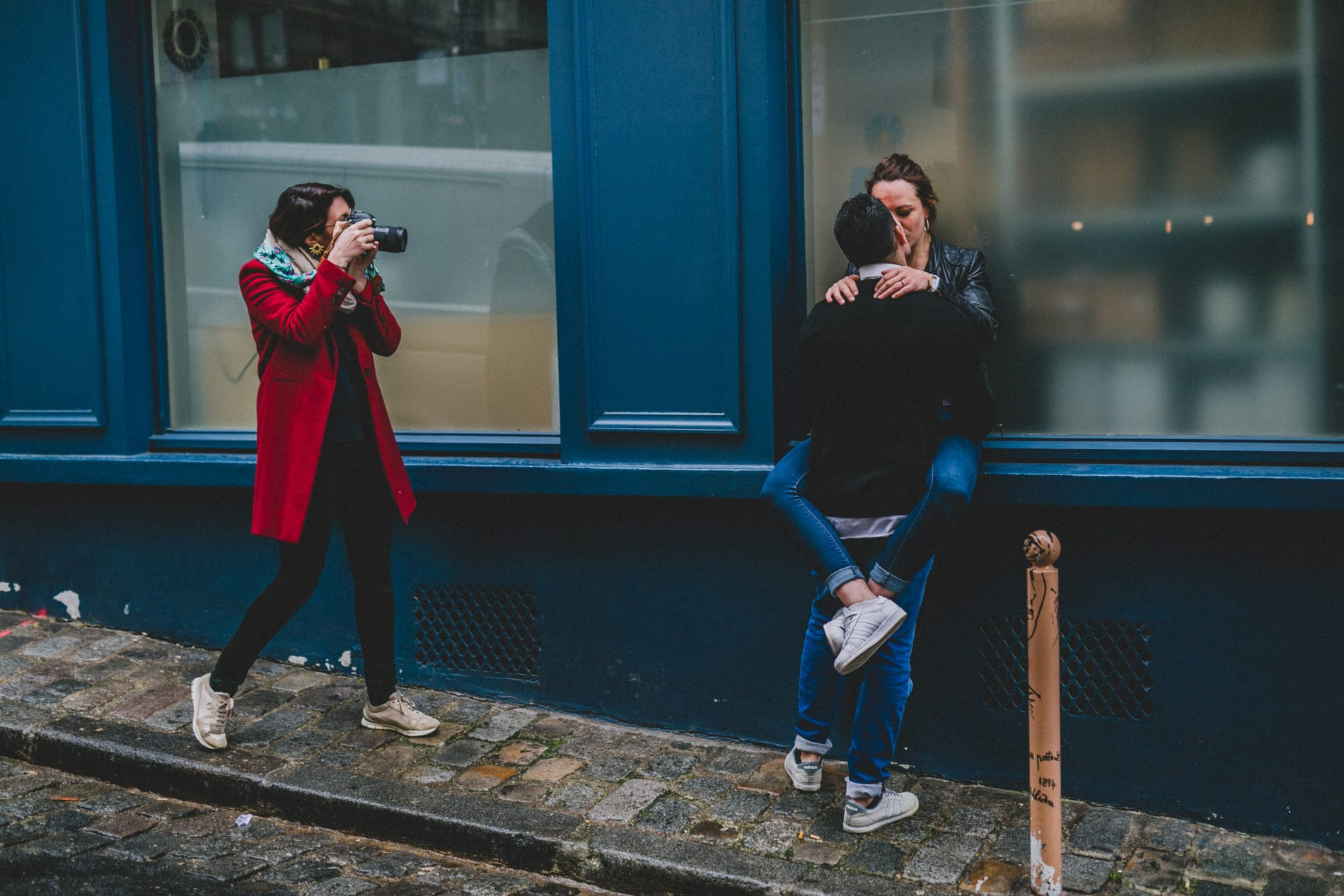 photo exercise of the workshop in Paris