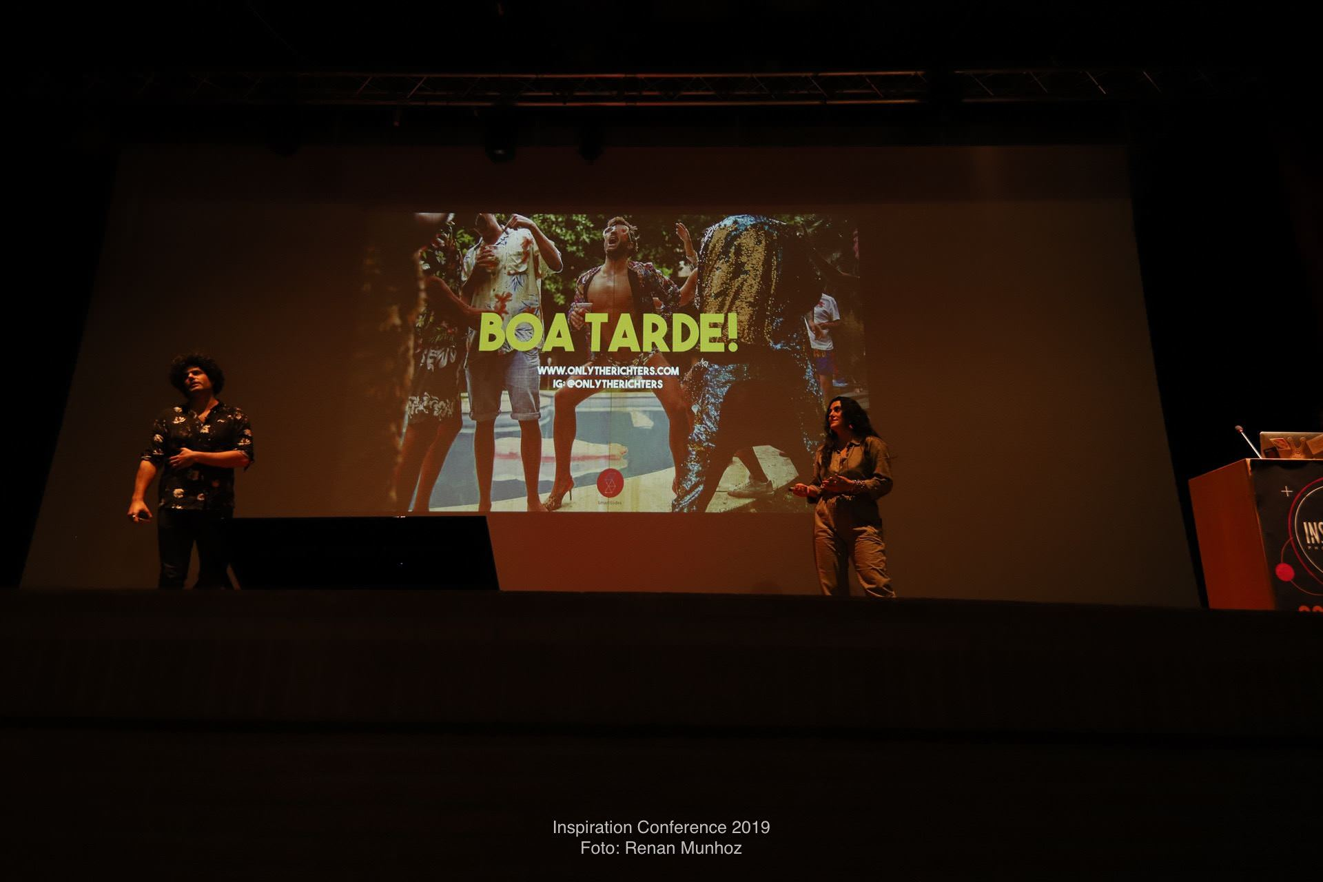 the richters on the stage of inspirations conference aveiro